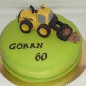 Göran 60år, traktor, 2012