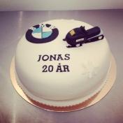 Jonas 20år, skoter BMW