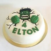 Elton 4år, Hulkentårta