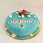 Stella 3år, flygplan