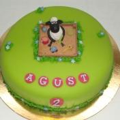 Agust 2år, Fåret Shaun