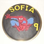 Sofia 9år, Spiderman