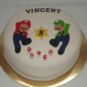 Vincent 5år, Mario Brothers