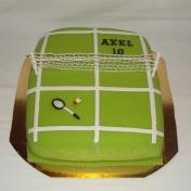 Axel 10år, Badminton