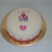 Lilly 1år, Cupcakes