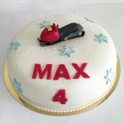Max 4år, skoter