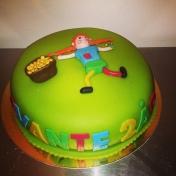 Pippitårta, Svante 2år