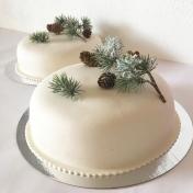 Bröllopstårta enkel x2