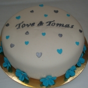 Bröllopstårta enkel
