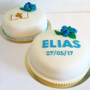 Konfirmationtårta Elias