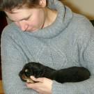 Ohlin meeting Khawa litter P1580251