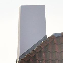 Renovering av en skorsten.
