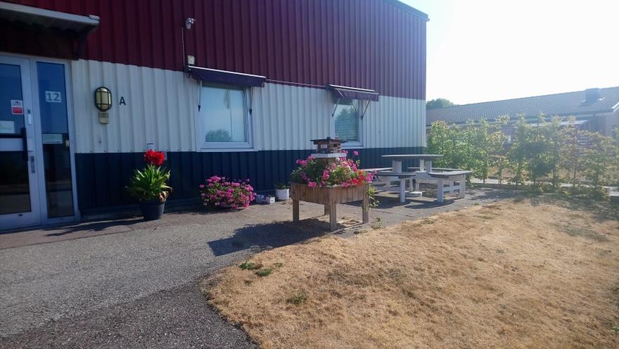 Kooperativet Lilas kansli på Höstbruksvägen 12 i Lund
