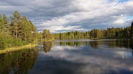 Sjön runt hörnet