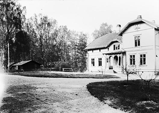 Geijersholm Herrgård 1907 (photographer: Greta Bronell), source: Värmlands Arkiv