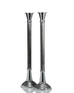 LJUSSTAKE  ESTELLE Grå/Silver H.70cm - LJUSSTAKE  ESTELLE Grå/Silver H.70cm