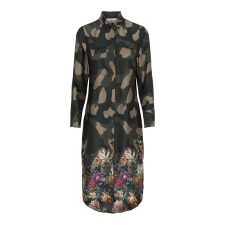 KARMAMIA Harper Dress Flower Camoufalge