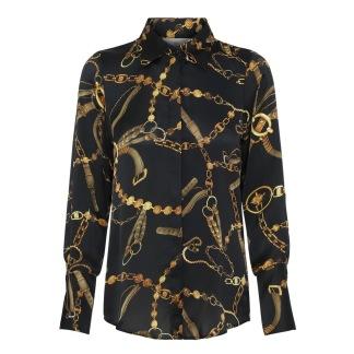 KARMAMIA Zoe Shirt Black Vintage - Zoe  Vintage KARMAMIA / S