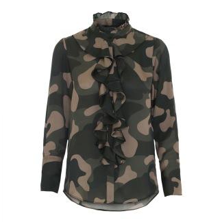 KARMAMIA Stella Shirt Camouflage - Stella Shirt – Camouflage / S