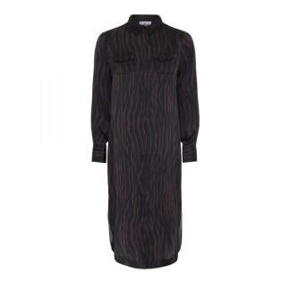 KARMAMIA Harper Dress – Terra Zebra - Harper Dress ZEBRA/ S