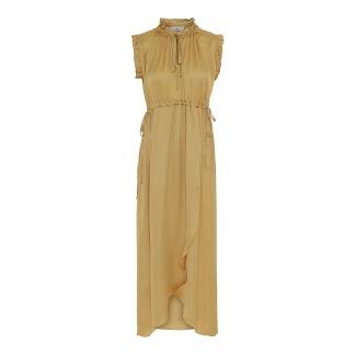 KARMAMIA India Dress – Golden Yellow - India Dress S/M