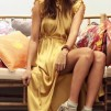 KARMAMIA India Dress – Golden Yellow
