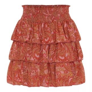 KARMAMIA Selma Skirt – Pink Paisley -