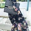 KARMAMIA Flower Camouflage Kimono LONG