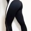 WALLDERINSKA Slimline leggings black/white - Slimline leggings/ L