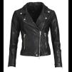 FRONTROW Bikery jacket black/ silver - Bikery jacket  silver/ 40