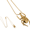 HALSBAND THE MINI BEETLE NECKLACE GOLD - THE MINI BEETLE NECKLACE GOLD