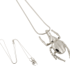 HALSBAND THE MINI BEETLE NECKLACE SILVER - THE MINI BEETLE NECKLACE SILVER