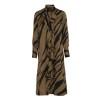 KARMAMIA Gold Tiger Ruffle Kimono - Gold Tiger Ruffle Kimono / L