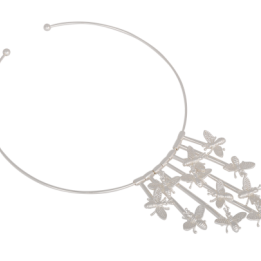 HALSBAND INSECT NECKLACE SILVER IOAKU