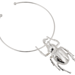 HALSBAND THE BEETLE NECKLACE Silver  LIMITED EDITION!