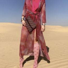 KARMAMIA Hailey Wrap Kimono – Pink