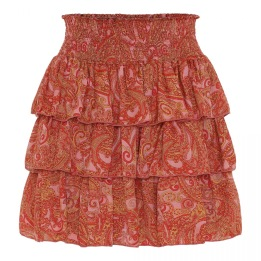 KARMAMIA Selma Skirt – Pink Paisley