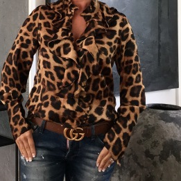 KARMAMIA Stella Shirt Leopard