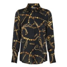 KARMAMIA Zoe Shirt Black Vintage
