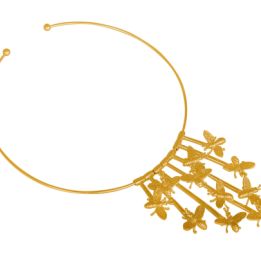 HALSBAND INSECT NECKLACE GOLD