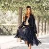 DAILY ELEGANCE Leilani Skirt Black - Leilani Skirt Black