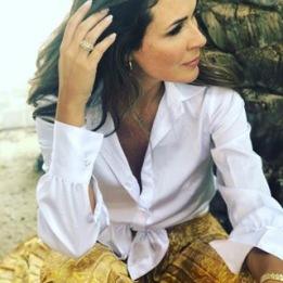 KARMAMIA Pearl White Shirt