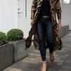 KARMAMIA Gold Tiger Ruffle Kimono