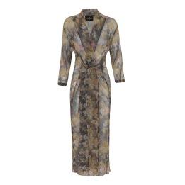 KARMAMIA Hailey Wrap Kimono – Golden Flower