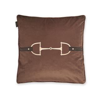 ADAMSBRO Velvet Snaffle Bit Cushion Cinnamon - Adamsbro Kudde