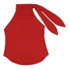 KARMAMIA RIBBON TOP - RED