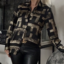 KARMAMIA Zoe Shirt – Inka Snake
