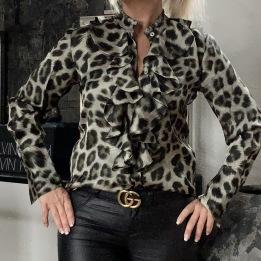 KARMAMIA Stella Shirt – Green Leo