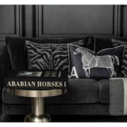 ADAMSBRO Zebra Jacquard Grey