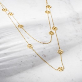 DAILY ELEGANCE Amber Necklace